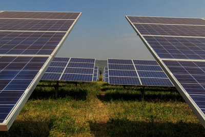 Solar panels (file photo).