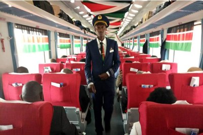 Kenya's New Nairobi-Mombasa Train - PHOTOS