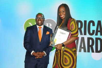 Innovation Price at the African Bankers Awards