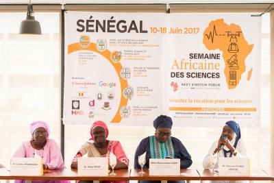 Quelques photos des tables rondes qui ont eu lieu le samedi 10 juin 2017 dans le cadre de la Semaine Africaine des Sciences.