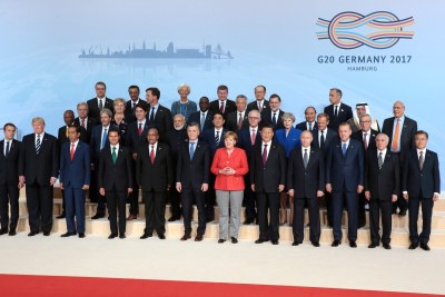 G20 Leaders in Hamburg