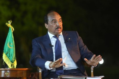 Le président mauritanien Mohamed Ould Abdel Aziz