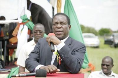 Emmerson Mnangagwa.