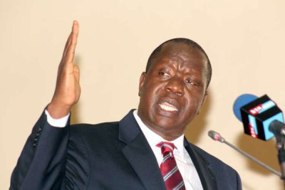 Education Cabinet Secretary Dr Fred Matiang'i when he appeared before the National Assembly's Education Committee in October. Friend and foe admire his reforms.