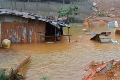 August 14 mudslide killed hundreds.