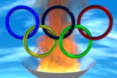 Le symbole des jeux olympiques.
