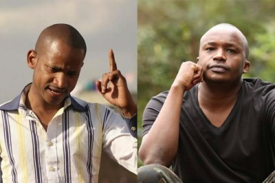 Embakasi East MP Babu Owino and Starehe lawmaker Charles Njagua aka Jaguar.