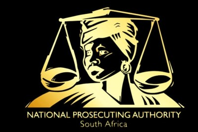 Logo of the National Prosecuting Authority.