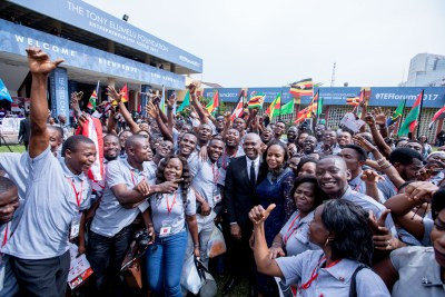 The Tony Elumelu Foundation (TEF) Entrepreneurial Forum hosted more than 1,300 participants from 54 African countries.