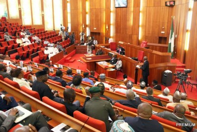 Nigerian Senate (file photo).