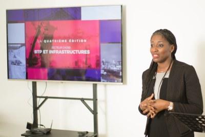 Mme Lynda Aphing-Kouassi, directrice de la société Kaizene