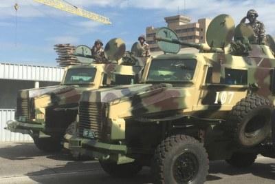 Namibian army.