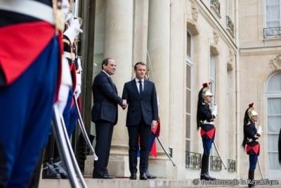 Visite officielle de M. Abdel FATTAH AL-SISSI, Président de la République arabe d'Egypte, en France.