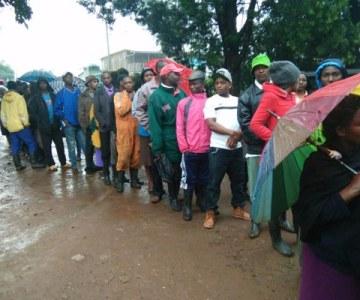 Voting Under Way in Kenya - PHOTOS