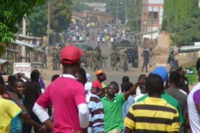 Contestations au Togo