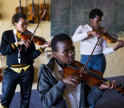 Meet Masiphumelele's Budding Violinists