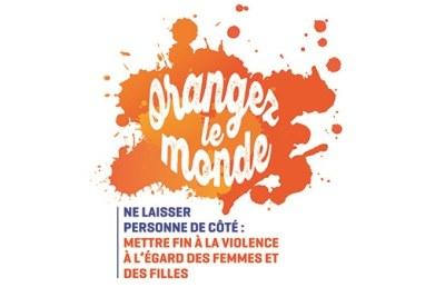 Campagne contre la violence faite aux femmes et aux filles