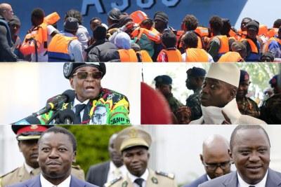 Cinq évènements qui ont marqué l'Afrique en 2017