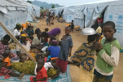 Refugees from northern Nigeria in Cameroon's Minawao camp (file photo).