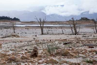Theewaterskloof Dam in drought-stricken Western Cape (file photo).