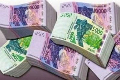 Des billets de banque de la BCEAO