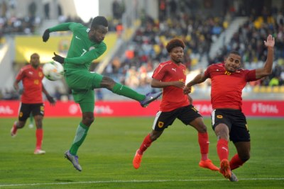 Nigeria play Angola in the CHAN 2018 quarter-finals.