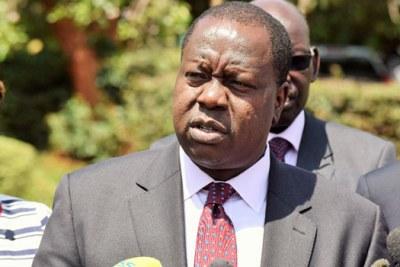 Interior Cabinet Secretary Fred Matiangi