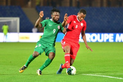 Nigeria play Sudan in the CHAN 2018 semi-final,