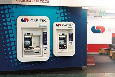 Capitec Bank ATMs (file photo)
