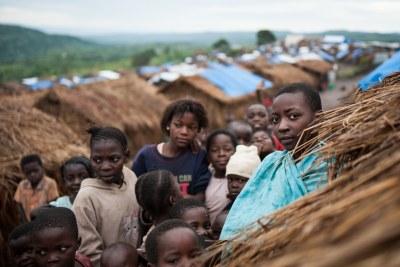Des enfants dans un camp de réfugiés en RDC (archive)