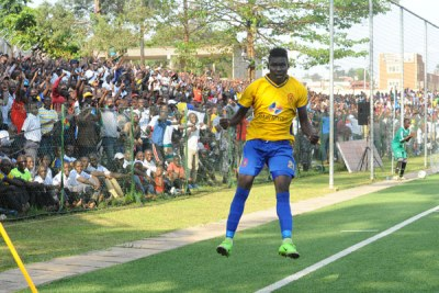 Muhammad Shaban's header goal wrote a new chapter in KCCA history.