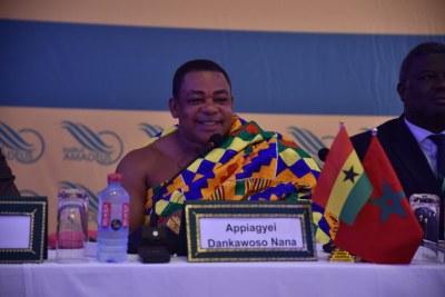 Nana Dr. Appiagyei Dankawoso, Président de la Chambre nationale de commerce et d'industrie du Ghana.