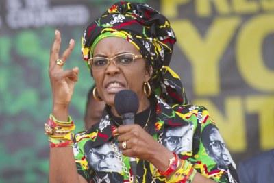 Grace Mugabe.