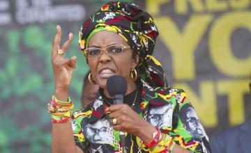 La justice sud-africaine lance un mandat d'arrêt contre Grace Mugabe