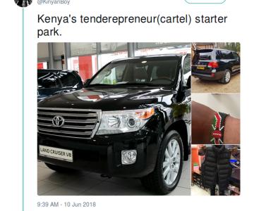 This Kenya Tenderpreneur Starter Pack Will Crack You Up