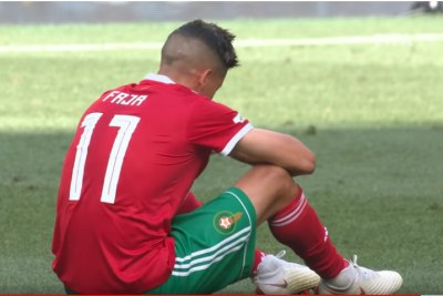 Morocco versus Portugal.