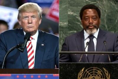President Trump and President Kabila