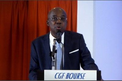 Gabriel Fal, Président du Conseil d'Administration de la société de gestion et d'intermédiation (SGI) sénégalaise CGF Bourse.