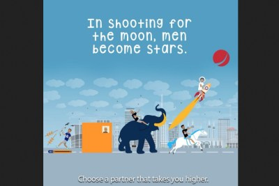 Drama started when Sterling Bank took to their Twitter to post an interesting ad.
