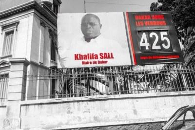 Khalifa Sall député maire de Dakar en prison depuis mars 2017