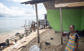 Monrovia Residents Await Homes as Sea's Rising Tides Threaten