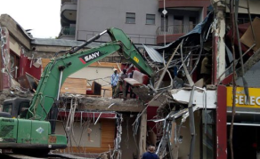 Java House Demolished as Nairobi Targets Illegal Structures