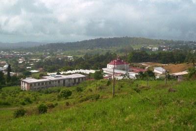 Buéa ou Buea est une ville du Cameroun qui se situe au pied du Mont Cameroun, un volcan en activité, à 1 000 mètres d'altitude. c'est la capitale de la région Sud-Ouest du pays.