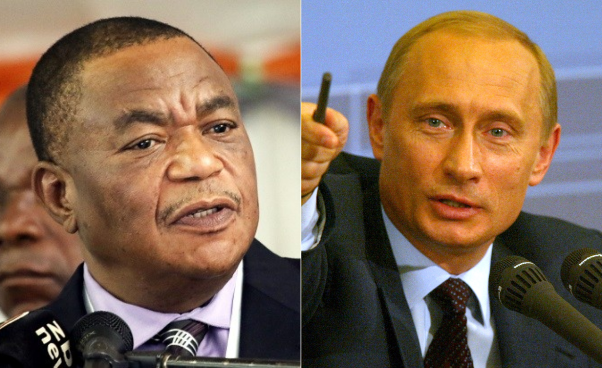 Image result for chiwenga russia