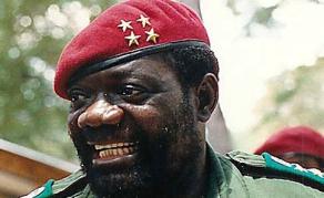 Angola to Rebury Rebel Leader Jonas Savimbi