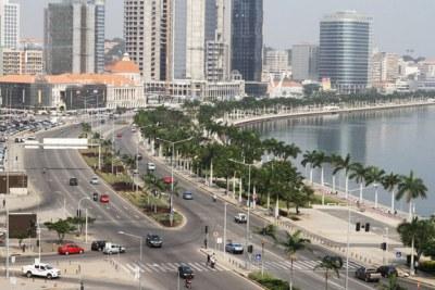 Une vue de Luanda , la capitale de l'Angola