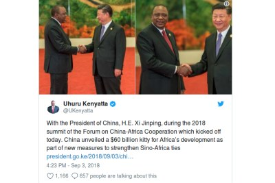This tweet from President Uhuru Kenyatta angered some Kenyans.