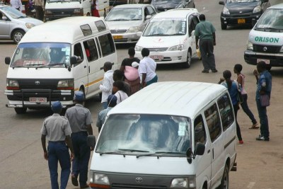 Taxi rank (file photo).