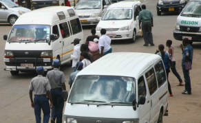 Taxi Commuters Bearing Aftermath of Fuel Shortage in Zimbabwe