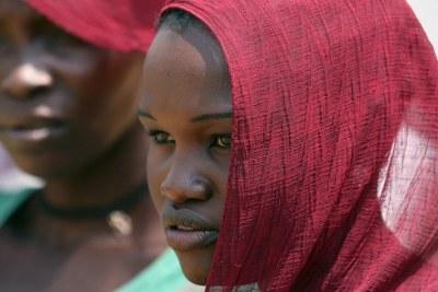 Des femmes sud-soudanaises à Yei au Soudan du Sud en janvier 2018.